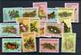 COCOS (KEELING) ISLANDS 1982 Definitives Butterflies and Moths. Set of 16. - 21347 - UHM