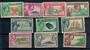 PITCAIRN ISLANDS 1940 Geo 6th Definitives. Set of 10. - 21367 - Mint