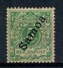 SAMOA 1900 Definitive 5pf Green. Very lightly toned copy. Well centred with good perfs. - 21399 - LHM