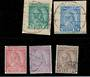 ALBANIA 1913 Definitives. Set of 6. - 21411 - FU