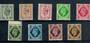 GREAT BRITAIN 1937 Geo 6th Definitives 4d to 1/-. - 21452 - UHM