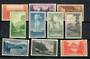 USA 1935 National Parks. Set of 10. Imperf. - 21533 - LHM