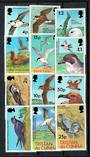 TRISTAN DA CUNHA 1977 Birds Definitives. Set of 12. - 21553 - UHM