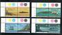 TRISTAN DA CUNHA 1997 Visual Communications. Set of 8 in joined pairs. - 21559 - UHM