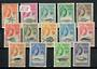 TRISTAN DA CUNHA 1960 Elizabeth 2nd Definitives. Set of 14. - 21562 - LHM