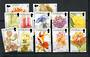 ST HELENA 2003 Wild Flowers. Set of 12. - 21579 - UHM