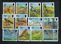 ST HELENA 1993 Birds. Set of 12. - 21607 - UHM