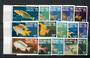 PITCAIRN ISLANDS 1984 Definitives Fish. Both series. Set of 15. - 21704 - UHM