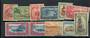 SAMOA 1952 Definitives. Set of 10. - 21716 - FU