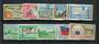 SAMOA 1962 Independence. Set of 10. - 21717 - VFU