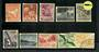 CHRISTMAS ISLAND 1963 Definitives. Set of 10. - 21736 - VFU