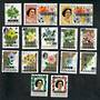 COOK ISLANDS 1975 Official. Set of 15. This set was not sold in mint condition. - 21738 - VFU