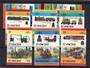 ST VINCENT 1984 Leaders of the World. Railway Locomotives. First series. Set of 16 in joined pairs. - 22513 - UHM
