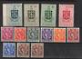 ST LUCIA 1953 Elizabeth 2nd Definitives. Set of 13. - 22518 - LHM