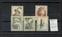 NETHERLANDS 1956 Cultural and Social Relief Fund. Set of 5. - 22558 - LHM