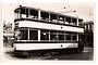 Real Photograph by tramspotter of Sheffield Corporation Tramways Car 244. - 242273 - Photograph