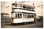 Real Photograph by tramspotter of Rotherham Corporation Tramways Car 14. - 242275 - Photograph