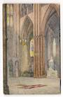 Painting 1921 by Mrs Hubert Humphries of the Tomb of the Unknown Warrior Westminster Abbey. - 242718 - Postcard