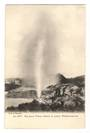 Early Undivided Postcard by Muir & Moodie of  the great Wairoa Geyser in action. - 246050 - Postcard