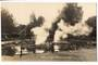 Real Photograph by Radcliffe of Malfroy Geyser Rotorua. - 246100 - Postcard