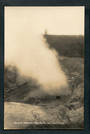 Real Photograph by Radcliffe of the Karapiti Blowhole Wairakei. - 246765 - Postcard