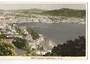 Real Photograph by N S Seaward of Wellington Harbour. Tinted. - 247327 - Postcard