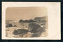 Real Photograph. The angy sea Sumner. - 248302 - Postcard