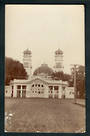 NEW ZEALAND Real Photograph of Entrance Christchurch Exhibition. - 248307 - Postcard
