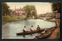 Coloured Postcard of River Avon from Hospital Bridge Christchurch. - 248358 - Postcard