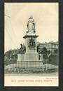 Early Undivided Postcard by Muir & Moodie of Queen Victoria Statue Dunedin. - 249131 - Postcard