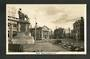 Real Photograph by A B Hurst & Son of Stuart Statue Dunedin. - 249137 - Postcard
