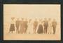 Real Photograph of people taken by Dick Simpson at Dunedin. - 249144 - Postcard