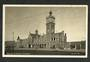 Real Photograph by Muir & Moodie of Railway Station Dunedin. - 249146 - Postcard