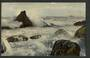 Real Photograph of Green Island Beach Dunedin. - 249147 - Postcard