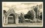 Real Photograph by A B Hurst & Son of Boys' High School Dunedin. - 249148 - Postcard