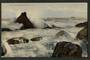 Real Photograph of Green Island Beach Dunedin. - 249159 - Postcard