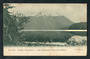 Early Undivided Postcard by Muir & Moodie of Hunter Mountains and Lake Manapouri from the Beehive. - 249338 - Postcard