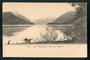 Early Undivided Postcard by Muir & Moodie of Lake Manapouri from the Beehive. - 249339 - Postcard