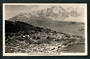 Real Photograph by A B Hurst & Son of Queenstown and the Remarkables. - 249426 - Postcard