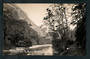 Real Photograph by Radcliffe of Clinton River Te Anau Milford Track. - 249820 - Postcard