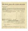 NEW ZEALAND 1946 Parcel Post Customs Declaration Form unused. - 30007 - PostalHist