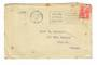 NEW ZEALAND 1927 Geo 5th Field Marshall 1d Red on cover. CP K15b. Slogan Postmark Christchurch 21/2/27.  CP has March as the dat