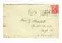 NEW ZEALAND 1927 Geo 5th Field Marshall 1d Red on cover. CP K15b. Slogan Postmark Christchurch 28/2/27.  CP has March as the dat