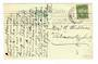 NEW ZEALAND Postmark Dunedin HAMILTON SOUTH. H Class cancel on postcard. Full strike. - 30079 - Postmark