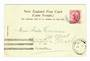 NEW ZEALAND Postmark Dunedin HAMILTON SOUTH. H Class cancel on postcard. Full name strike. - 30081 - Postmark