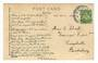 NEW ZEALAND Postmark Christchurch KAIAPOI. G Class cancel on Postcard. - 30083 - Postmark