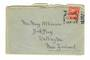 NEW ZEALAND Postmark Wellington EASTBOURNE. B Class cancel as areceiving mark on letter from England. - 30089 - Postmark