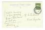 NEW ZEALAND Postmark Christchurch RANGIORA. H Class cancel on Postcard. - 30095 - Postmark