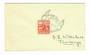 NEW ZEALAND Postmark Christchurch AIR MAIL EXHIBITION on cover. - 30097 - Postmark