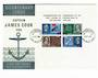 NEW ZEALAND 1969 Bicentenary of the Voyage of Captain James Cook. Miniature sheet on first day cover. - 30100 - FDC